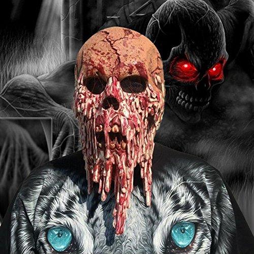 Luckybuy168 Skeleton Ghost Skull Face Mask Biker Balaclava Costume Halloween Cosplay (Best Halloween Costumes 1990s)