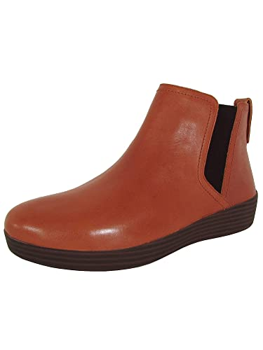 159aa119a FitFlop Womens Superchelsea Pull On Leather Boot Shoes