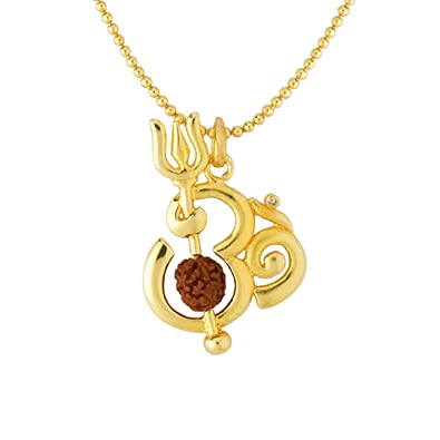 2c914c1ea8daf3 Voylla Fashion Metal Pendant for Men(Gold) (8907275978428): Voylla Designer:  Amazon.in: Jewellery