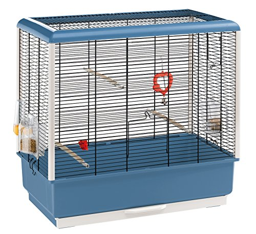 (Ferplast Piano 4 Canary and Small Exotic Bird Cage,)