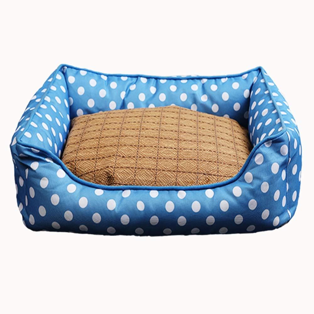 B Byx- Pet Nest Pet Cat Kennel Waterproof Oxford Cloth   55X40X15cmPet nest (color   B)