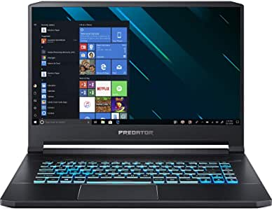 "Acer Predator Triton 500 15.6"" Intel i7-9750H 2.6GHz 16GB Ram 512GB SSD Win10Pro (Renewed)"