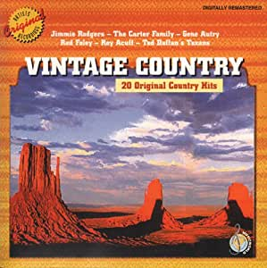 Old Country Music (Compilation CD, 20 Tracks)