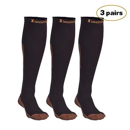Amazon.com: thx4 cobre Sox Crossfit de compresión calcetines ...