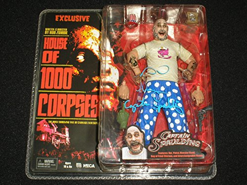 - Sid Haig signed Captain Spaulding NECA Figure The Devils Rejects House 1,000 Corpses