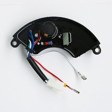 J2XCO AVR Automatic Voltage Regulator For Subaru Briggs Stratton Husky Homelite Gasoline Generator HU40500 HU40500A HU40500G HU5000 HU5000G HU5000S
