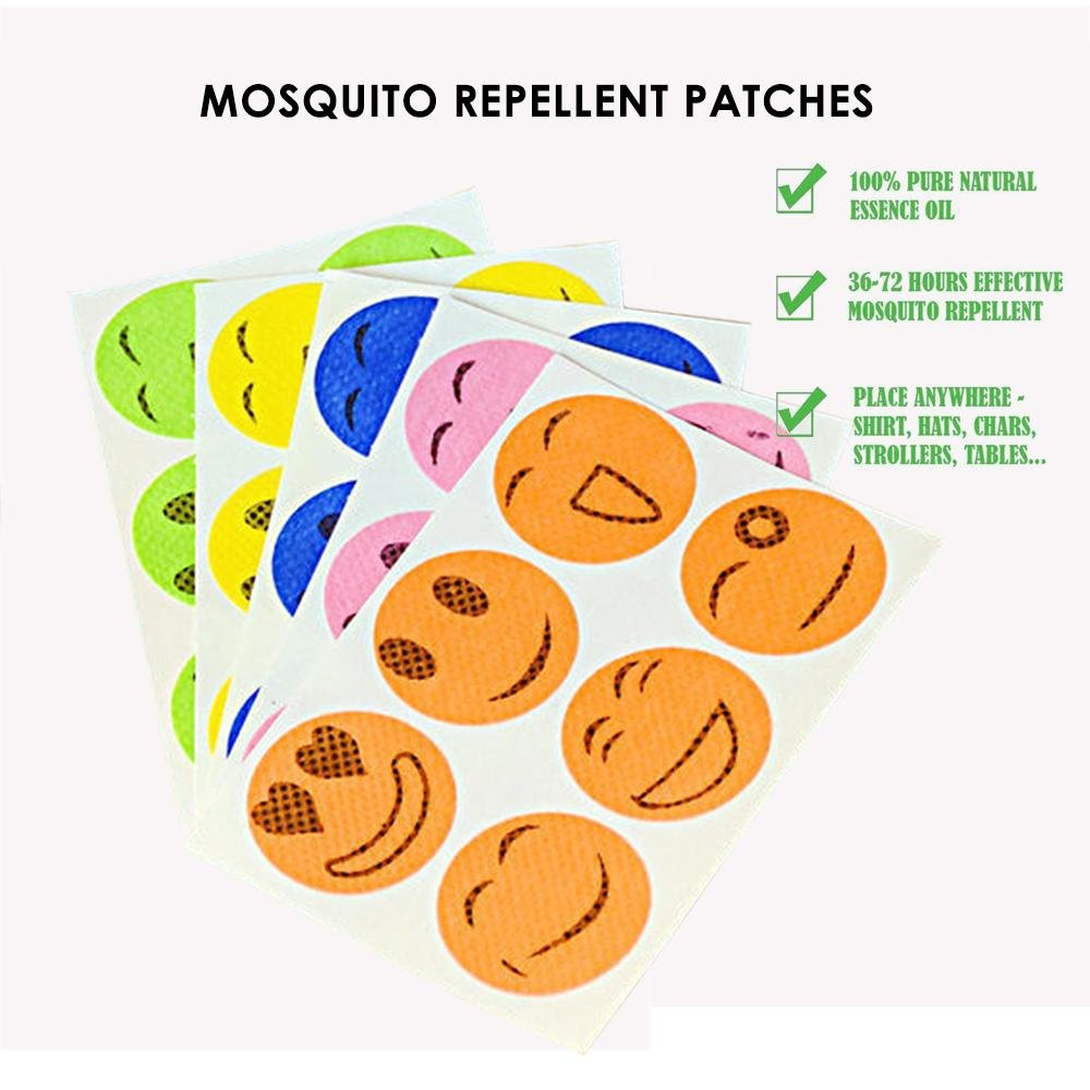 Mosquito Repellent Patch 120 Counts Natural Insect Repellent Stickers for  Kids Children Adults Keeps Insects and Bugs Far Away for Home Camping  Travel and ... c9622d6b6312