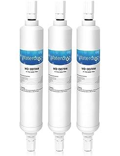 894dccc9cd6e04 Waterdrop DD7098 filtre à eau de réfrigérateur (externe, raccord à vis)  compatible avec