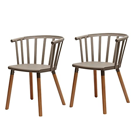 Fabulous New Home Art Contemporary Furniture Safe And Kid Friendly Eames Stylish Kitchen Dining Chairs Pp Easy Clean Plastic Set Of 2 Mild Grey Ibusinesslaw Wood Chair Design Ideas Ibusinesslaworg