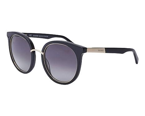 a04990a0fff Amazon.com  Balmain sunglasses (BL-2113 01) Shiny Black - Gold ...
