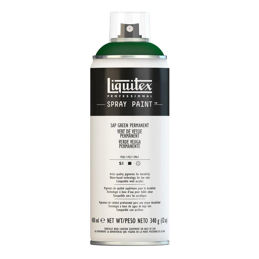 Liquitex プロフェッショナル スプレーペイント 12オンス 13.5 oz グリーン 4450315 B008LUITZE Sap Green Permanent Sap Green Permanent