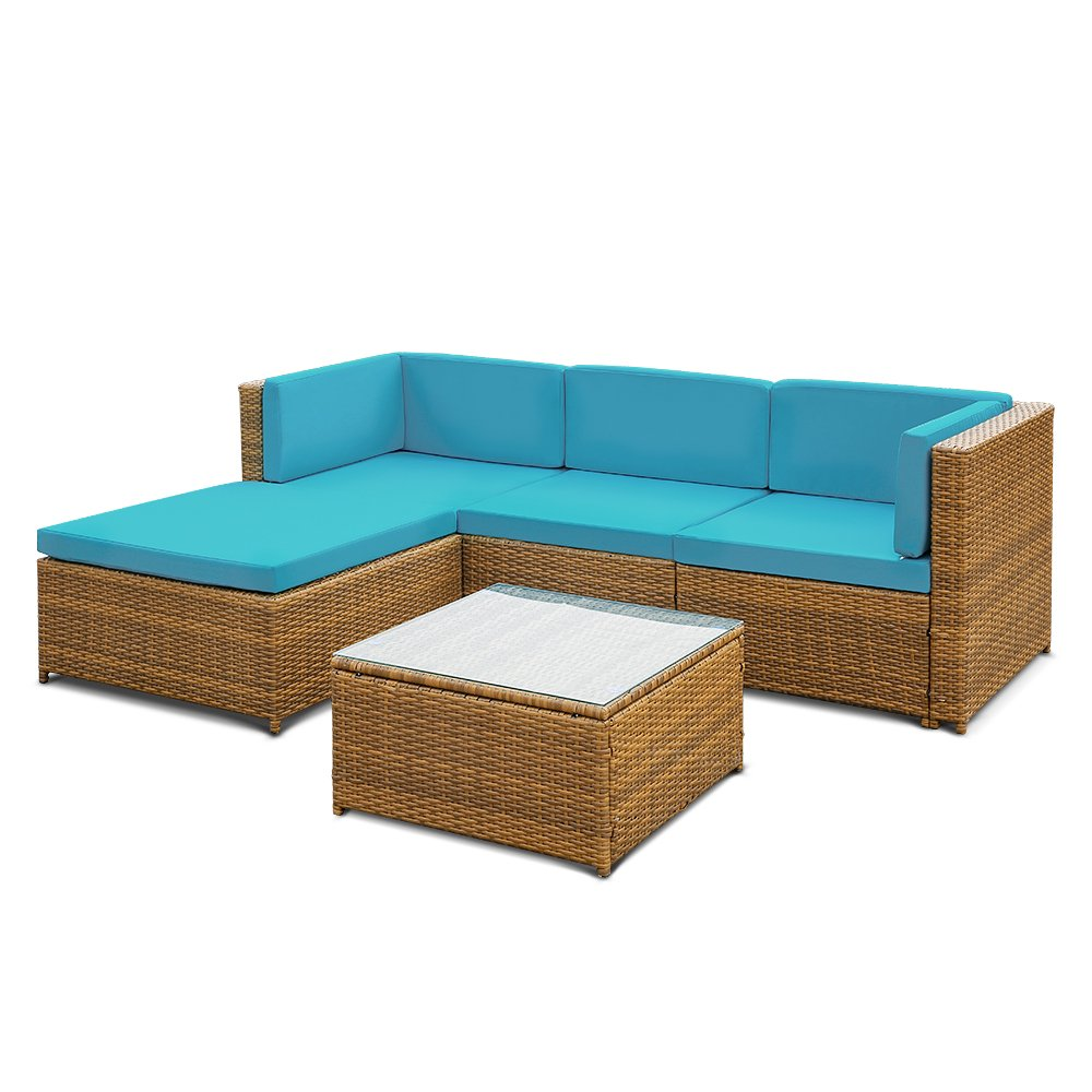 ikayaa rattan lounge set loungem bel loungeset loungegruppe 3 farbe optional g nstig kaufen. Black Bedroom Furniture Sets. Home Design Ideas