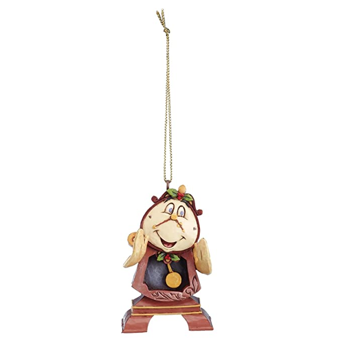 Disneyana Disney Traditions Beauty Beast Hanging Christmas Ornament A28960 Collectables Ubi Uz