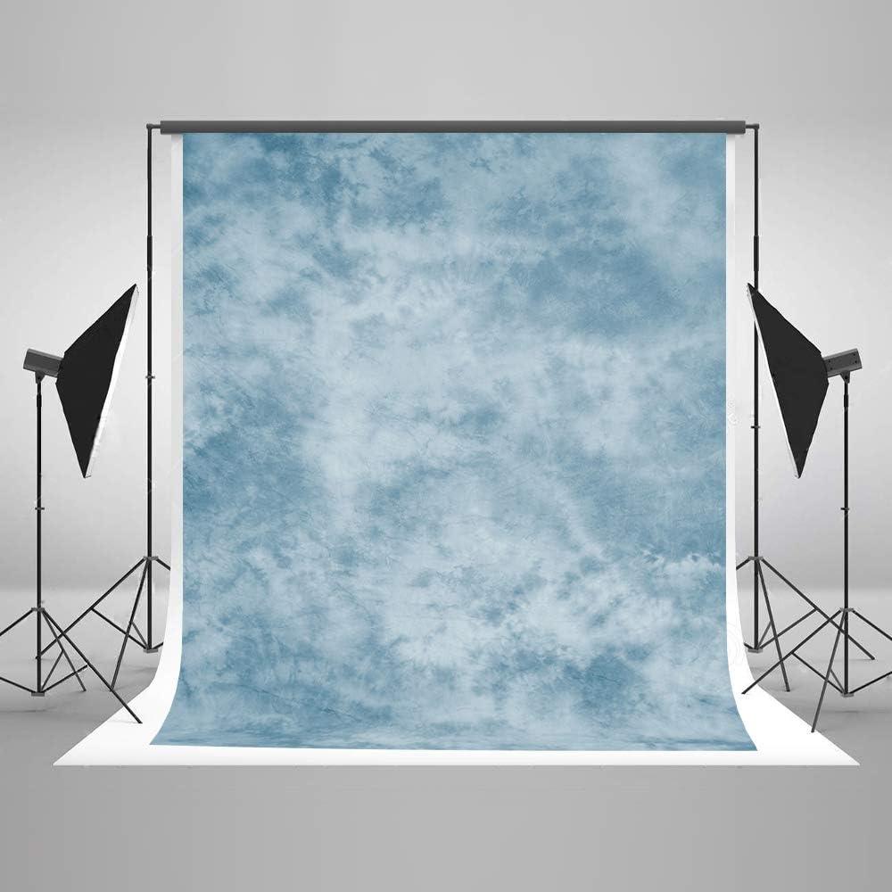 Kate 5x7ft Blue Photography Backdrop Light Blue Textures Portrait Background Old Master Photo Backdrops