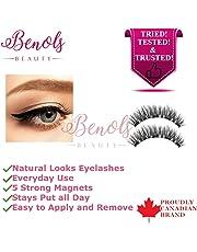 Benols Beauty Magnetic Eyeliner with 3D Magnetic Eyelashes