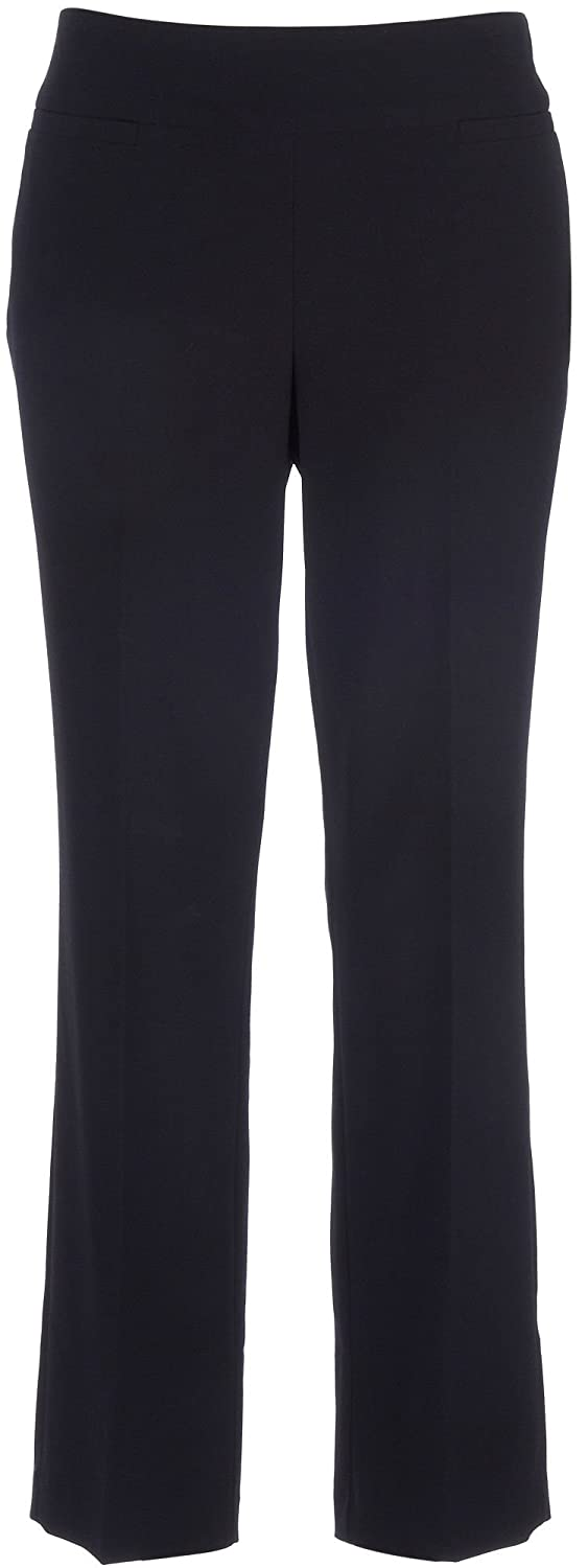 Counterparts Petite Solid Pull-On Pants 14P Black