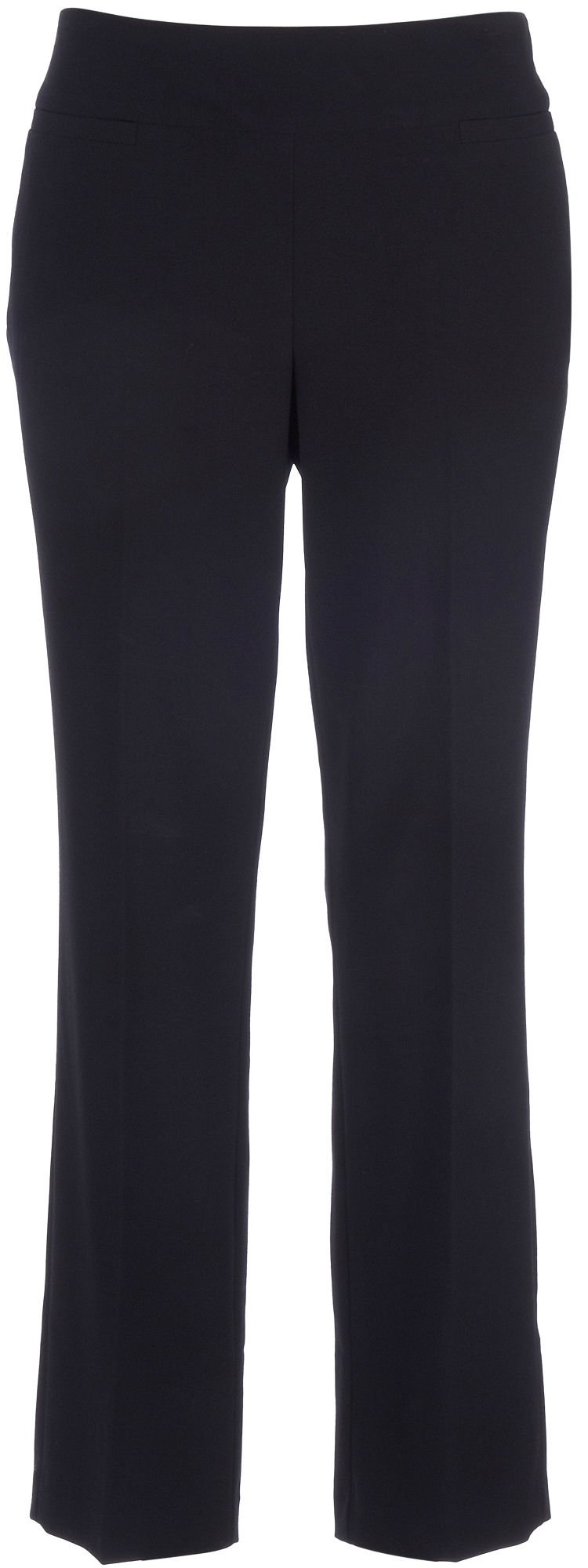Counterparts Womens Solid Pull On Pants 12 Black