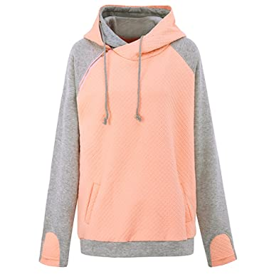 77c70458c8 Image Unavailable. Image not available for. Colour  iShine Women s  Drawstring Sweatshirts Hoodie Long Sleeve ...