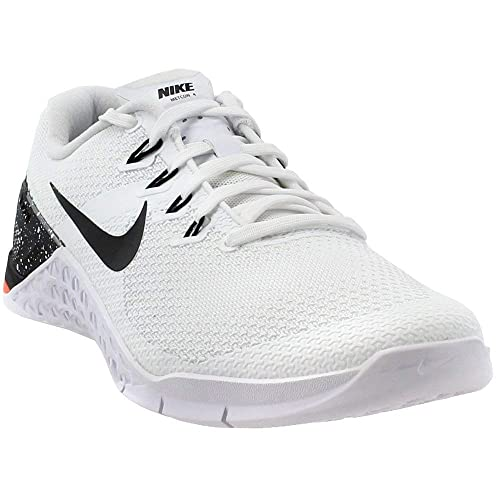 newest 63e9e fc707 Amazon.com  Nike Womens Metcon 4 Training Shoes (8.5, WhiteBlackOrange)   Fashion Sneakers