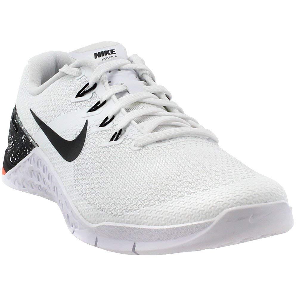new concept b33fd d7e3e Galleon - Nike Women s Metcon 4 Training Shoes (7, White Black Orange)