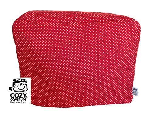 CozyCoverUp for Kenwood Prospero Red Spot Pattern 100% Cotton