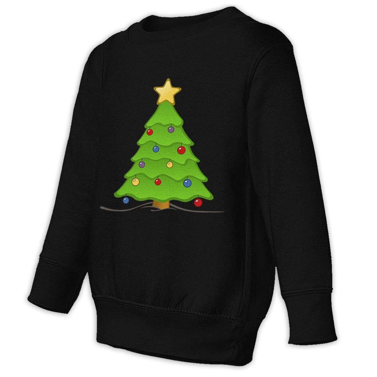 NMDJC CCQ Christmas Tree Decoration Baby Sweatshirt Fashion Kids Hoodies Cotton T Shirts