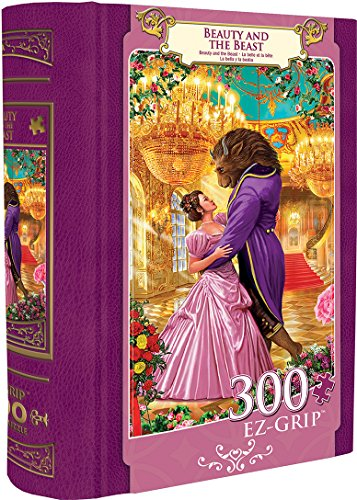 MasterPieces Beauty and the Beast Large 300 Piece EZ Grip Book Box Jigsaw Puzzle by MasterPieces