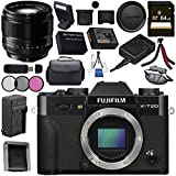 Fujifilm X-T20 Mirrorless Digital Camera (Black) 16542490 XF 56mm f/1.2 R Lens 16418649 Bundle