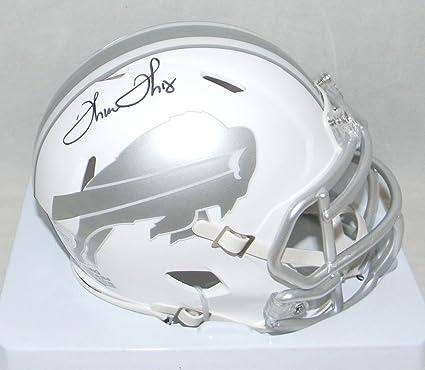 f41f2a1b5db Thurman Thomas Signed Buffalo Bills Ice Speed Mini Helmet - JSA Certified