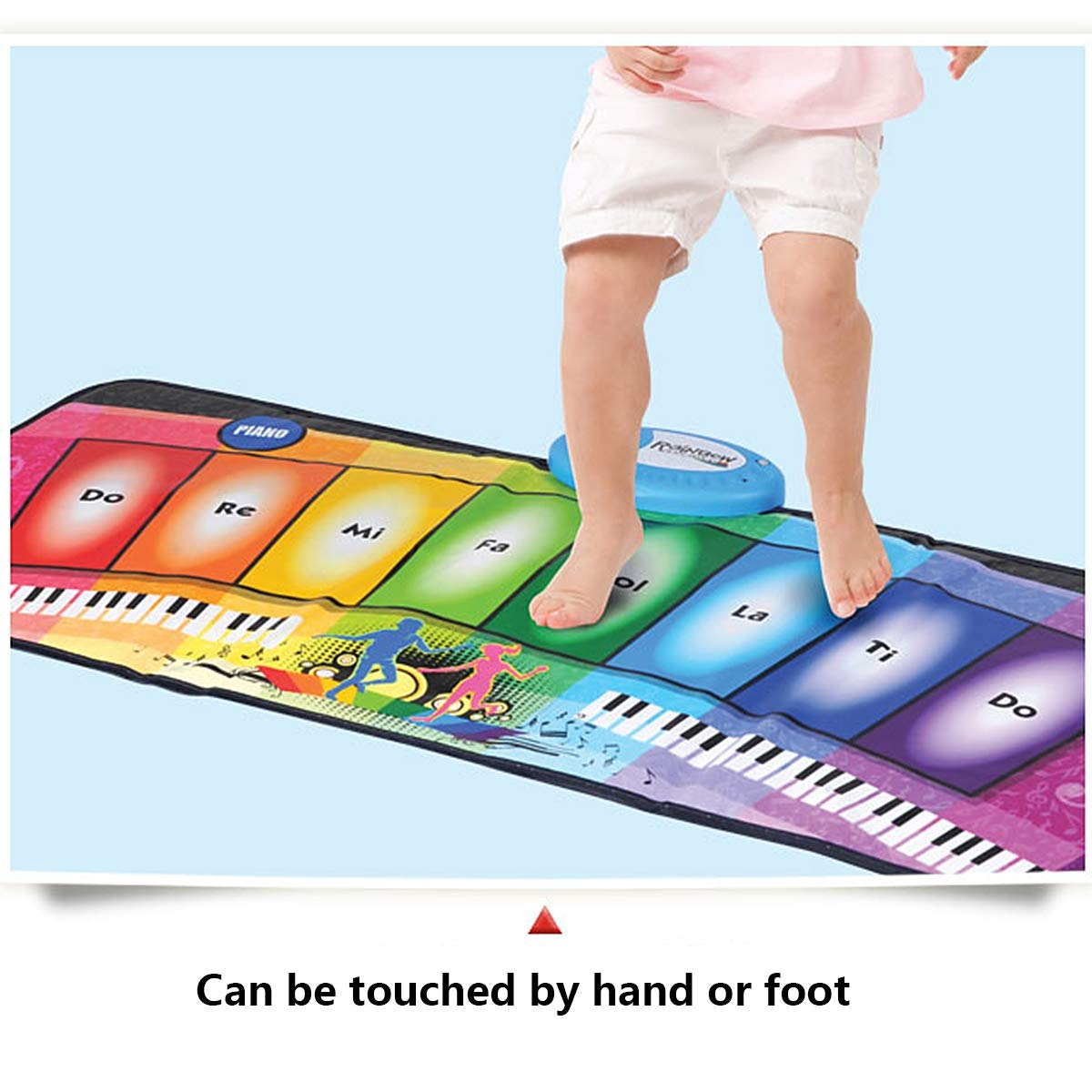 Children's Electronic Piano Mat, Electronic Music Game Pad Music Crawling Blanket Support Multi-Person Use by Eustoma (Image #5)