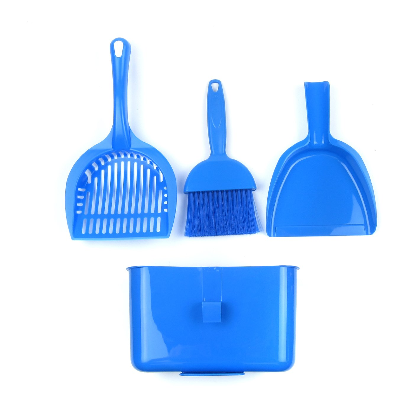 Alfie Pet by Petoga Couture - Aaron Cat or Small Animal Cleaning Brush Set - Color Blue by Alfie (Image #2)