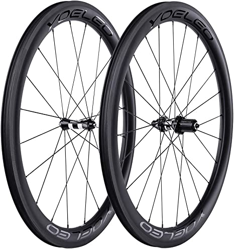 YOELEO Road Bike Wheels SAT C50 PRO Clincher Carbon 700C Bicycle Wheelset