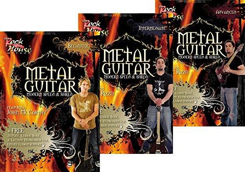 Rock House Learn Metal Guitar Beginner, Intermediate, & Advanced (Advanced Rock Guitar Dvd)