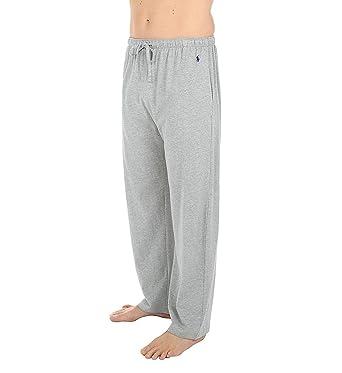 72e52d0c389 Polo Ralph Lauren Relaxed Fit 100% Cotton Lounge Pant (L163) at Amazon  Men's Clothing store: