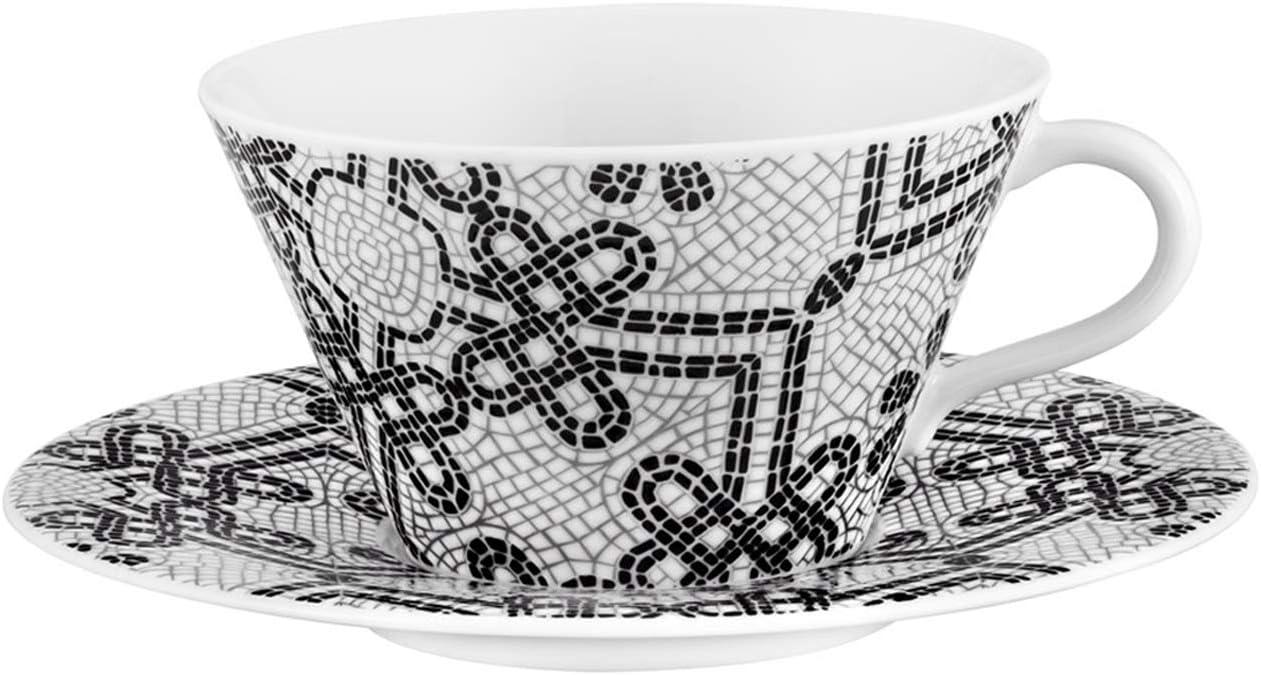 Vista Alegre Demitasse Cup and Saucer made in Portugal Via8 Pattern