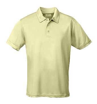 c9c97f91 Just Cool AWDis Men's Short Sleeve Cool Polo Shirt: Amazon.co.uk ...