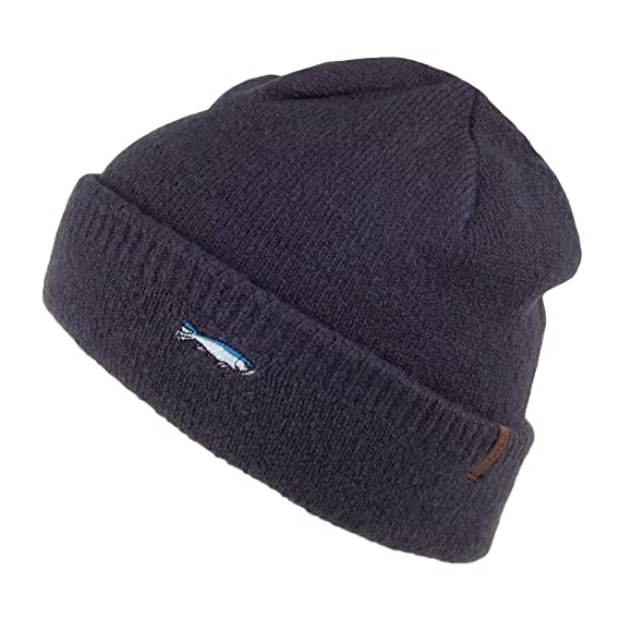 6e772ccf743 Barts Hats Pegasus Fish Beanie Hat - Navy Blue 1-Size  Amazon.co.uk ...