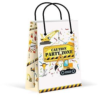 Amazon.com: Construcción bolsas de fiesta, nuevo, tratar ...
