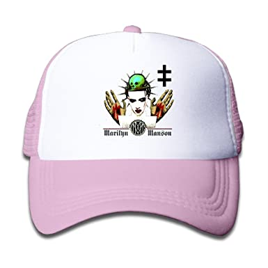 Kid s Hats Marilyn Manson Rock Band The Pale Emperor Cool Snapback Cap  Small Kids Cap 43f04bffef7