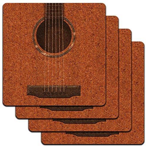 Acoustic Guitar Strings Profile Coaster