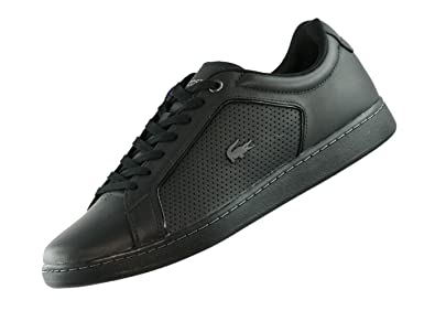 1b87869e5ea7 Lacoste Men s Carnaby Evo Spm006102h Trainers Black  Amazon.co.uk  Shoes    Bags