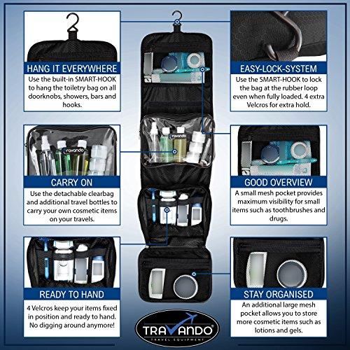 TRAVANDO Hanging Toiletry Bag. Id  B07561KPD6 · Original Link. Share. TRAVANDO  Hanging Toiletry Bag