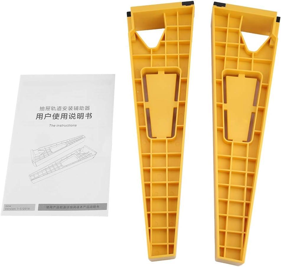 guida per installazione precisa del binario del cassetto supporti per il posizionamento dei cassetti per strumento di scorrimento per cassetti Guida per maschera per cassetti accessori