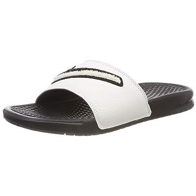 Nike Benassi JDI Chenille Men's Slides Black/Summit White ao2805-001 (11 M US) | Sandals