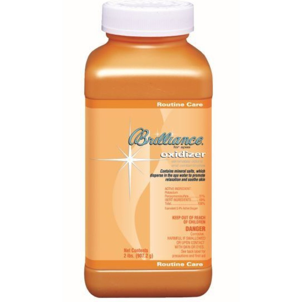 Brilliance for Spa Oxidizer with Mineral Salts (4) by Brilliance for Spas