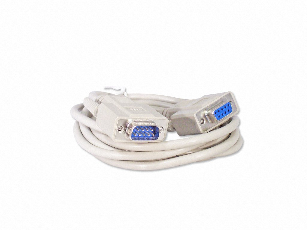Female RS232 Your Cable Store 10 Foot DB9 9 Pin Serial Port Null Modem Cable Male