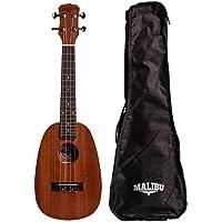 Ukulele Malibu Abacaxi Concert 23 Sapele Natural Uk23sp Avs