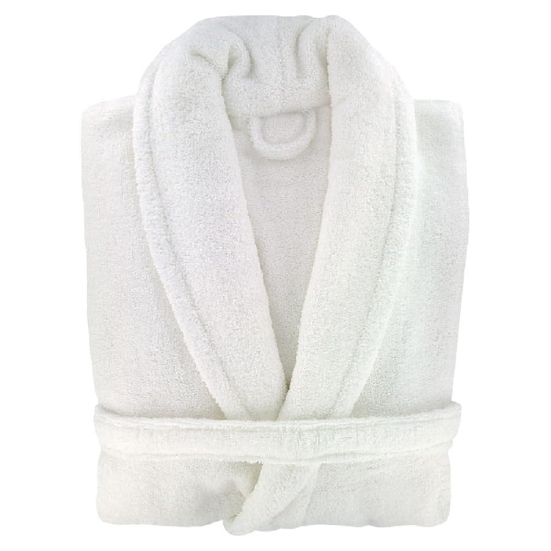 9bdd663cbc Ladies Luxury 100% Cotton Towelling Bath Robe Dressing Gown Wrap Nightwear  Hooded   Non Hooded