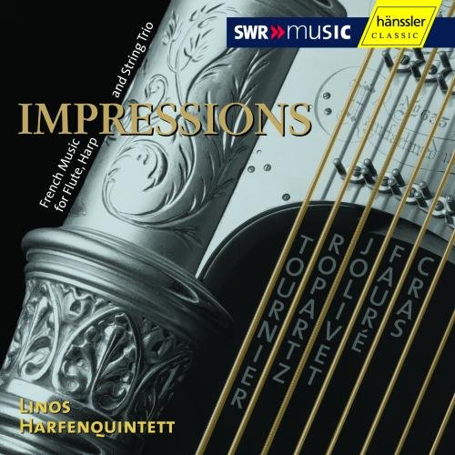 Impressions: French Chamber Music for Flute, Harp and String Trio