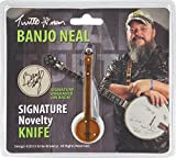 Turtleman TM032-BRK Banjo Neal Novelty Knife
